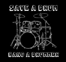 save-a-drum-bang-a-drummer-t-shirt-shirtaday-2