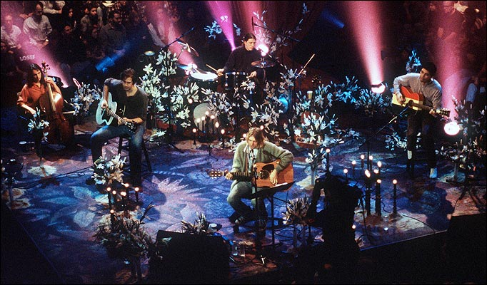 Nirvana Unplugged Wallpaper Nirvana's Epic Unplugged
